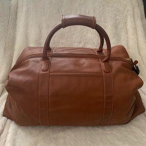 Coach Genuine leather weekend bag